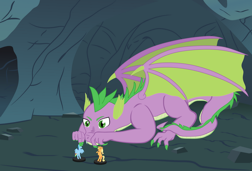 Spike's Shipping Problem by Cheezy805
