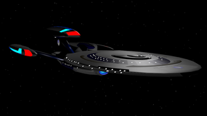 USS Trenalk NCC-1801 Leviathan Class remake by Marksman104