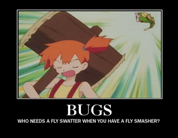 Motivational Poster - Bugs by clampfan101