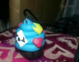 Cupcake Necklace by frozenmistress