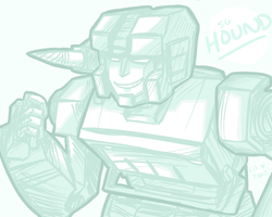 TFSG: Hound by xenotechnophile