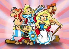 Asterix Avengers of Gaul by Amely14128