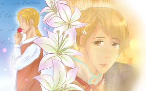 Hetalia-Jeanne d'Arc and France by whitekittyredhair