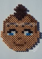 Fuse Beads Sokka by Purplefire40