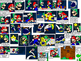 super mario bros page 13 by Nintendrawer