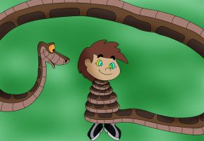 Kaa And Kevin Color by jerrydestrtoyer