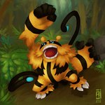 Shiny Electivire - Welcome to the Jungle by alpin-j
