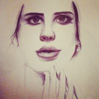 Lana Del Rey - incomplete by Naiengele