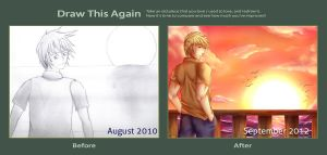 Draw This Again:: By The Sunset by ninjanu