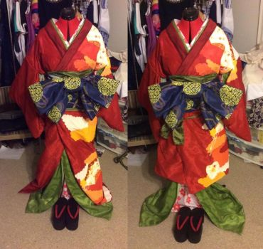 Chizuru Yukimura Geisha Finished by MissMina2