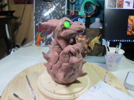 WIP Hatching Whelp by DragonCid