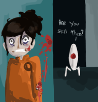 Portal- I see you by PaperBird