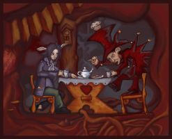 A Mad Tea-Party by ftsf