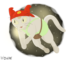 Space Cat by Howlune