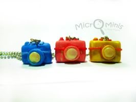 Camera Necklaces by margemagtoto
