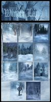 Winter land 1 backgrounds by moonchild-ljilja