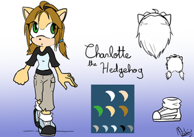 Cont: Charlotte redesign by Carn-the-Wolf