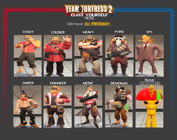All My TF2 Classes by TheProdigy100