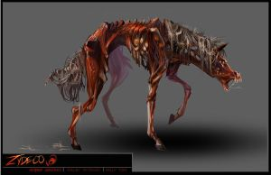 Zydeco: Fully Infected- Horse by SinCommonStitches