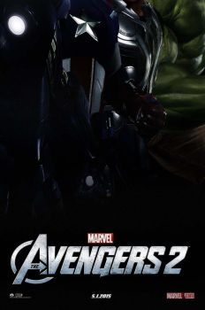 The Avengers 2 Poster by StephenCanlas