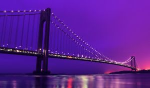 New York: Verrazano Bridge. by inbrainstorm
