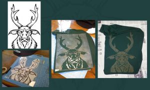 Deer shirt by doingwell
