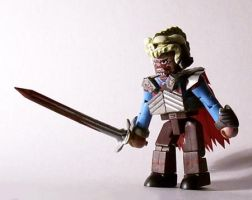 Evil Ash (Army of Darkness) Custom Minimate by luke314pi