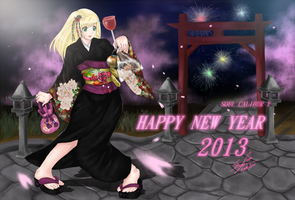 Happy New Year 2013 SCV by syahilla