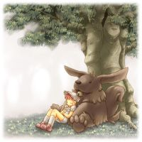 Under the Tree_ by MoMoJaH