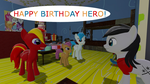 Happy Birthday Hero by mRcracer