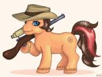 TF2-MLP - Sniper Pony by Noretus