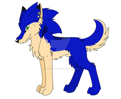 .:Sonic's New Wolf Look:. (My Style) by xSonadowLover103x