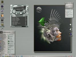 Encoded Rooster Desktop by jaidaksghost