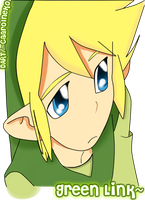 Green Link by CaarolNeko