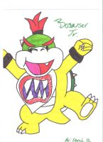 Bowser jr. by Crazy-Drawer101