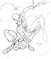 ultimate spiderman by danny2069