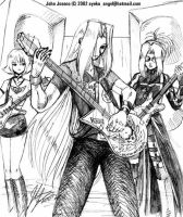 Rock On Sephiroth by johnjoseco