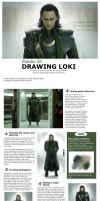 How to draw Loki by EternaLegend