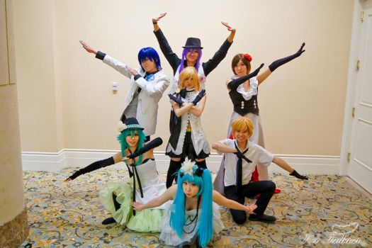 Vocaloid: Team Pose by gya-inc