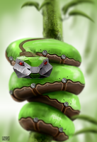 Robot Snake by Rofelrolf