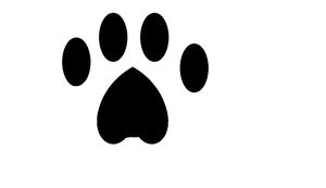 Paw Print by creepsome
