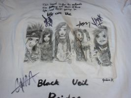 Signed BVB T-Shirt by TsubakiUkitake