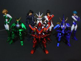 Ronin Warriors - 4 Down... by lupesisagundam