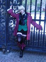 Lord Trancy-Alois Cosplay by SunshineAlways