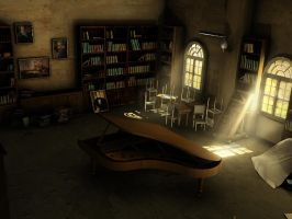 piano room scenes 2 by cH1woON