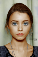 Abbey Lee Colorization by imLilus
