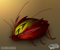 Arrowback Beetle by Curzec