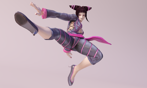Juri 3DS Render 6 by x2gon