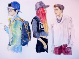 Hipsters by EMZL