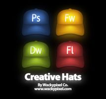 CreativeHats by wackypixel